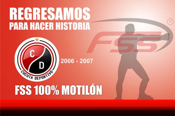 La marca deportiva FSS anunció su regreso como patrocinador de la camiseta del Cúcuta Deportivo, depués de 5 años de ausencia  vuelve la marca que mejores recuerdos tiene en la hinchada rojinegra.
