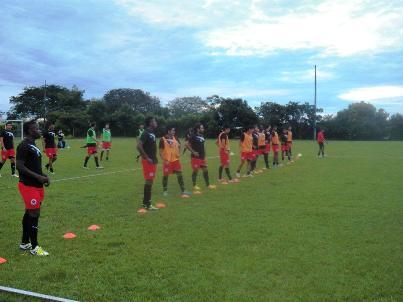 El equipo rojinegro está motivado para seguir afrontando el duro reto del 2012, se definieron los partidos de local de Copa Postobón y Liga en la ciudad de Yopal. Foto (Argemiro Daza)