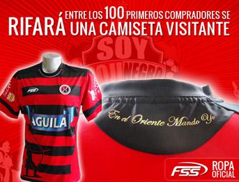 La nueva camiseta Rojinegra EN EL ORIENTE MANDO YO de FSS ya se encuentra a la venta en Cúcuta y muy pronto a NIVEL NACIONAL.