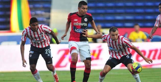 Cúcuta sumó un punto en Barranquilla