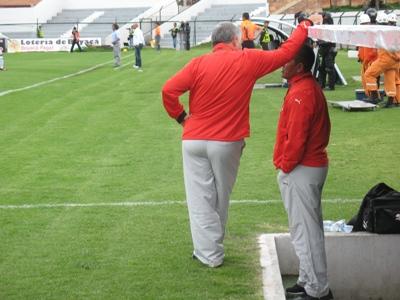 En entrevista con el programa Pasión Fútbol y Goles, el directivo habló del futuro inmediato del equipo. Continúa al frente de la dirección técnica el profesor Juan Carlos Díaz al lado de Ricardo 'chicho' Pérez.
