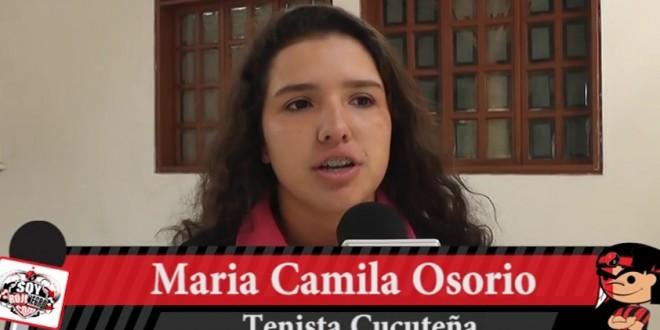 MARÍA CAMILA OSORIO SE PREPARA PARA INTERVENIR EN LA FED CUP.