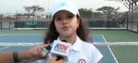 Maria Camila Osorio impone su juego en el ITF Junior de Barranquilla