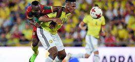 Colombia bailó y goleó 4-0 a un débil Camerún