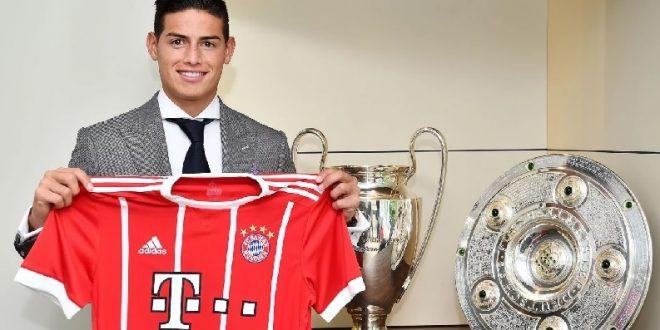 James, feliz cumpleaños con el Bayern