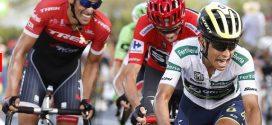 Esteban Chaves ya está tercero en la Vuelta España