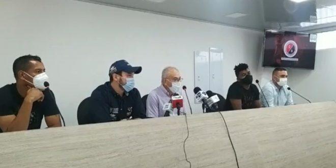 Jorge Luis Pinto y Hugo Horacio Lóndero, líderes de comité que pretende recuperar a Cúcuta Deportivo